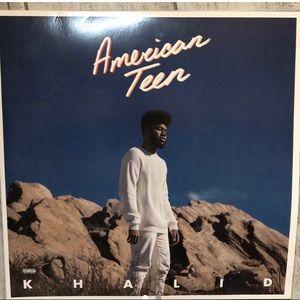 khalid vinyl album (american teen)